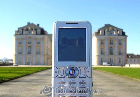 Sony Ericsson K550i: beim Fotografieren