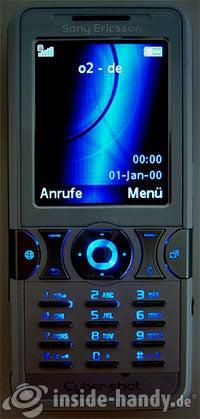 Sony Ericsson K550i: Beleuchtung