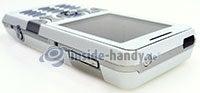 Sony Ericsson K550i: Draufsicht rechts oben