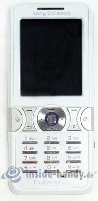 Sony Ericsson K550i: Draufsicht