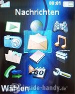 Sony Ericsson K550i: Hauptmenü