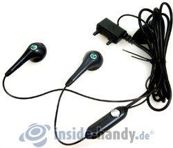Sony Ericsson K550i: Headset