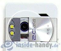 Sony Ericsson K550i: Kamera