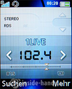 Sony Ericsson K550i: Radio