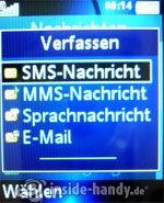 Sony Ericsson K550i: Verfassen