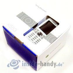 Sony Ericsson K550i: Verpackung