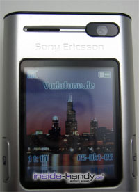 Sony Ericsson K600i - Display