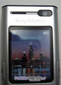 Sony Ericsson K600i - Display
