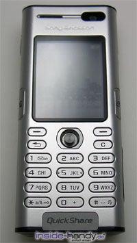 Sony Ericsson K600i - Front