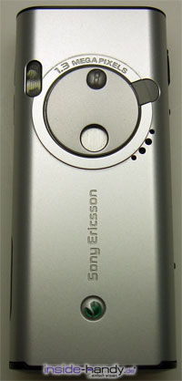 Sony Ericsson K600i - Rückseite