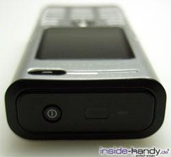 Sony Ericsson K600i - von oben