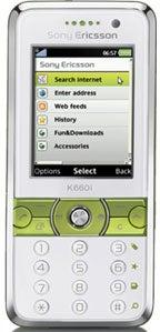 Sony K660i Datenblatt - Foto des Sony K660i