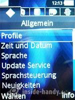 Sony Ericsson K810i: Allgemeine Einstellungen