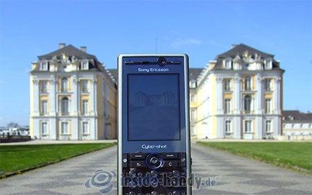 Sony Ericsson K810i: beim Fotografieren