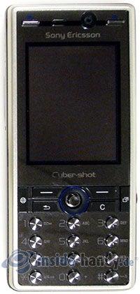 Sony Ericsson K810i: Draufsicht