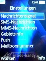 Sony Ericsson K810i: Einstellungen