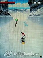 Sony Ericsson K810i: Extreme Air Snowboarding