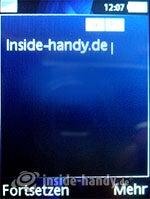 Sony Ericsson K810i: Mitteilung verfassen