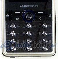 Sony Ericsson K810i: Tastatur