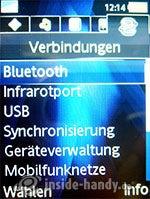 Sony Ericsson K810i: Verbindungen