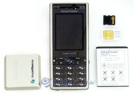 Sony Ericsson K810i: zerlegt in Bestandteile