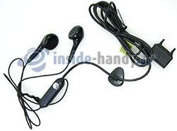 Sony Ericsson k850i: Headset