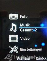 Sony Ericsson k850i: Medien