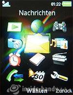 Sony Ericsson k850i: Menü