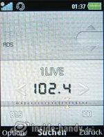 Sony Ericsson k850i: Radio