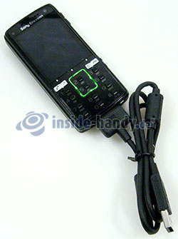 Sony Ericsson k850i: USB-Kabel