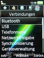 Sony Ericsson k850i: Verbindungen