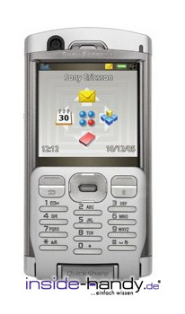 Sony P990i Datenblatt - Foto des Sony P990i