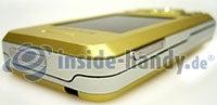Sony Ericsson S500i: Draufsicht oben links