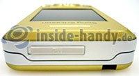 Sony Ericsson S500i: Draufsicht oben