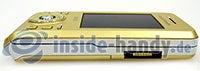 Sony Ericsson S500i: Draufsicht rechts