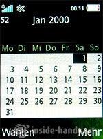 Sony Ericsson S500i: Kalender