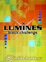 Sony Ericsson S500i: Lumines block challenge