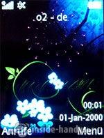Sony Ericsson S500i: Startbildschirm