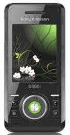 Sony S500i Datenblatt - Foto des Sony S500i