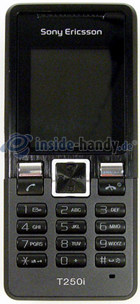 Sony Ericsson T250i: Frontansicht
