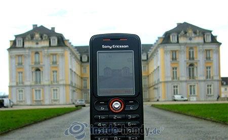Sony Ericsson W200i: beim Fotografieren