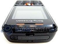 Sony Ericsson W200i: Draufsicht oben