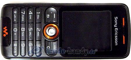 Sony Ericsson W200i: Draufsicht