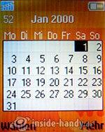 Sony Ericsson W200i: Kalender