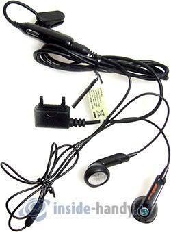 Sony Ericsson W200i: mit Headset