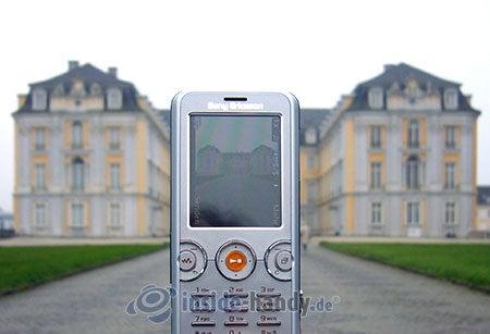 Sony Ericsson W610i: beim Fotografieren