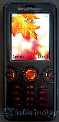Sony Ericsson W610i: Beleuchtung