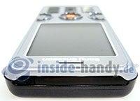Sony Ericsson W610i: Draufsicht oben