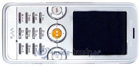 Sony Ericsson W610i: Draufsicht