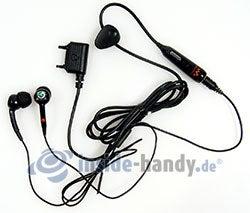 Sony Ericsson W610i: Headset